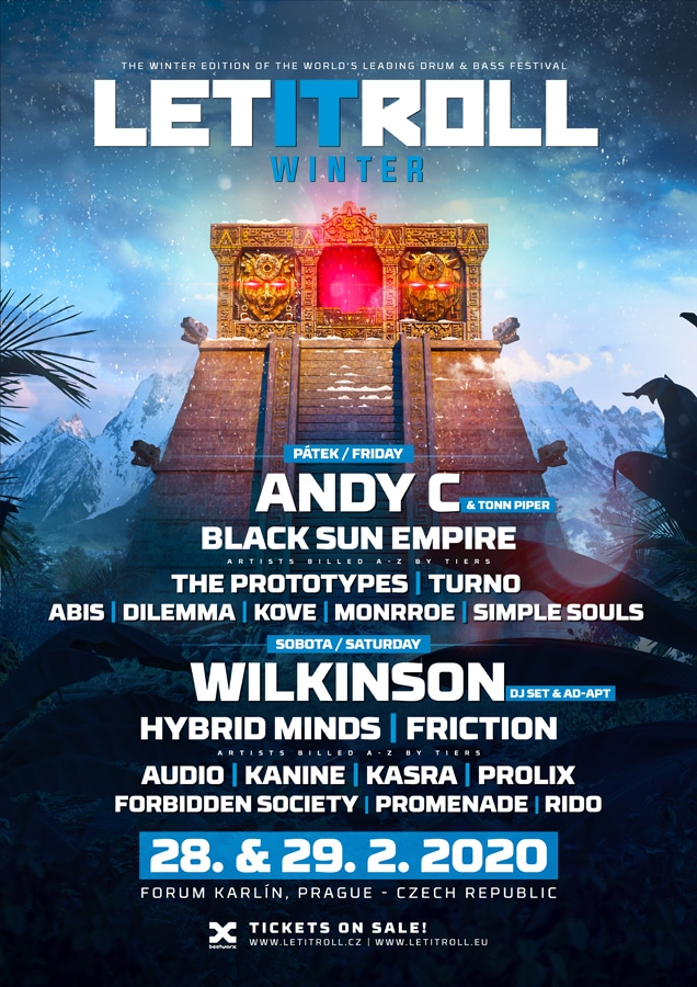 Let It Roll Winter 2020 lineup